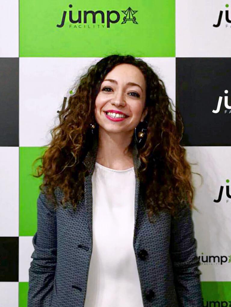 Foto di Elisabetta Bracci, Founder di JUMP Facility.